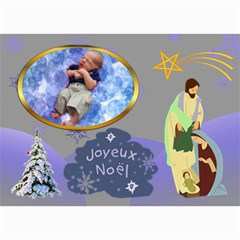 Holiday Card #8, 5x7 By Joy Johns   5  X 7  Photo Cards   49rf4zn7fvvh   Www Artscow Com 7 x5 Photo Card - 5
