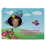 Butterfly XXL cosmetic bag - Cosmetic Bag (XXL)