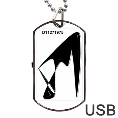 By Eric Aikens   Dog Tag Usb Flash (one Side)   N4l0ebbv1qs9   Www Artscow Com Front