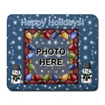Happy Holidays large mousepad