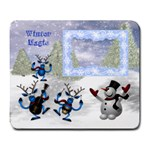 Winter Magic large mousepad