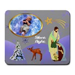 Silent night large mousepad