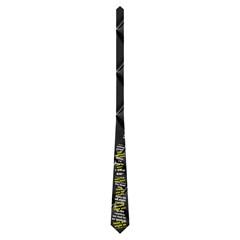 2 Sided Pawpaw Tie By Janet Grimes   Necktie (two Side)   Xh2vnidyxygq   Www Artscow Com Front