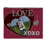 Love and Kisses XL Cosmetic Bag - Cosmetic Bag (XL)