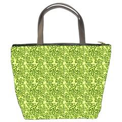 Bucket Bag Pi Number Green By Matematicaula   Bucket Bag   Gsosbzj7rm9c   Www Artscow Com Back