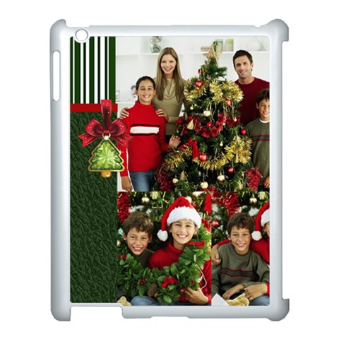 Merry Christmas By Merry Christmas   Apple Ipad 3/4 Case (white)   3axp0a37eols   Www Artscow Com Front