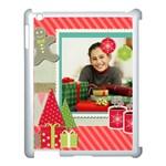 merry christmas - Apple iPad 3/4 Case (White)