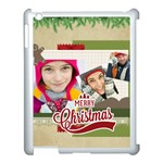 merry christmas - Apple iPad 3/4 Case (White)