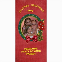 Holiday Photo Card #8, 4x8 By Joy Johns   4  X 8  Photo Cards   6omsskdrd9nj   Www Artscow Com 8 x4 Photo Card - 4
