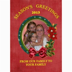 Holiday Card #9, 5x7 By Joy Johns   5  X 7  Photo Cards   2xf2gl698azs   Www Artscow Com 7 x5 Photo Card - 7