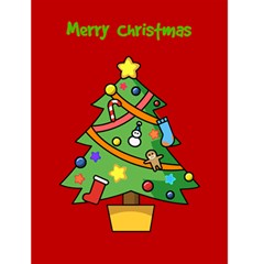 Merry Christmas Card By Brayden Peacock   Greeting Card 4 5  X 6    26vl8mgic1mz   Www Artscow Com Front Cover