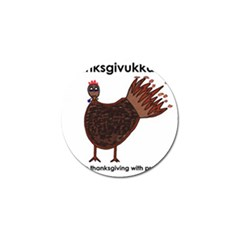 Turkey Golf Ball Marker by Thanksgivukkah