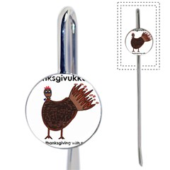 Turkey Bookmark by Thanksgivukkah