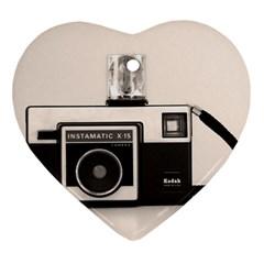 Kodak (3)s Heart Ornament (two Sides) by KellyHazel