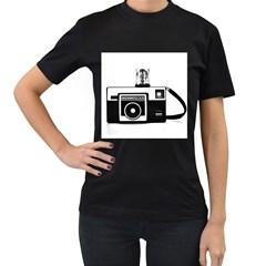 Kodak (3)cb Womens' T Shirt (black) by KellyHazel