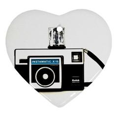 Kodak (3)c Heart Ornament by KellyHazel