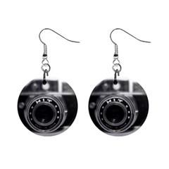 Hit Camera (2) Mini Button Earrings