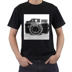 Hit Camera (2) Mens' Two Sided T Shirt (black) by KellyHazel