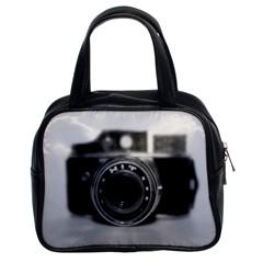 Hit Camera (2) Classic Handbag (two Sides) by KellyHazel