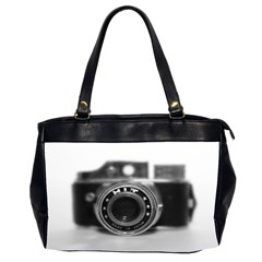 Hit Camera (2) Oversize Office Handbag (two Sides) by KellyHazel