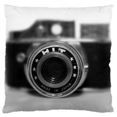 Hit Camera (2) Large Cushion Case (single Sided)  by KellyHazel