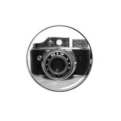 Hit Camera (3) Golf Ball Marker (for Hat Clip) by KellyHazel