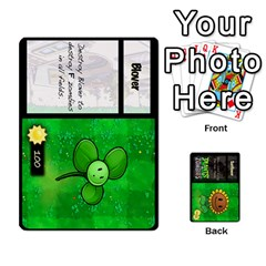 Plants Vs  Zombies By Ajax   Playing Cards 54 Designs   Rc73mtsn0tpi   Www Artscow Com Front - Spade3