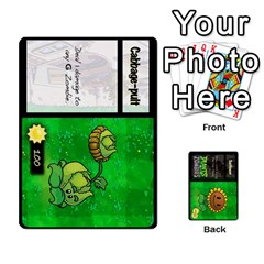 Plants Vs  Zombies By Ajax   Playing Cards 54 Designs   Rc73mtsn0tpi   Www Artscow Com Front - Spade4