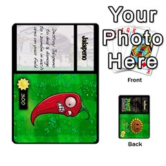 Jack Plants Vs  Zombies By Ajax   Playing Cards 54 Designs   Rc73mtsn0tpi   Www Artscow Com Front - HeartJ