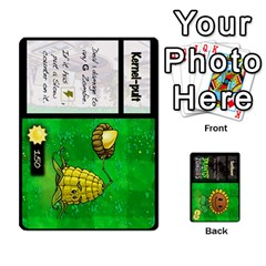 Ace Plants Vs  Zombies By Ajax   Playing Cards 54 Designs   Rc73mtsn0tpi   Www Artscow Com Front - HeartA