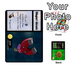 Plants Vs  Zombies By Ajax   Playing Cards 54 Designs   Rc73mtsn0tpi   Www Artscow Com Front - Diamond4