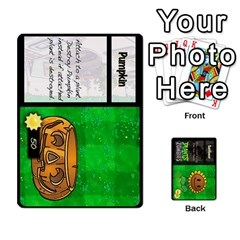 Plants Vs  Zombies By Ajax   Playing Cards 54 Designs   Rc73mtsn0tpi   Www Artscow Com Front - Club2