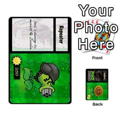 Plants Vs  Zombies By Ajax   Playing Cards 54 Designs   Rc73mtsn0tpi   Www Artscow Com Front - Club3