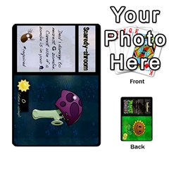 Plants Vs  Zombies By Ajax   Playing Cards 54 Designs   Rc73mtsn0tpi   Www Artscow Com Front - Club6