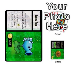 Plants Vs  Zombies By Ajax   Playing Cards 54 Designs   Rc73mtsn0tpi   Www Artscow Com Front - Club7