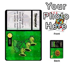 Queen Plants Vs  Zombies By Ajax   Playing Cards 54 Designs   Rc73mtsn0tpi   Www Artscow Com Front - ClubQ