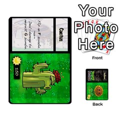 Plants Vs  Zombies By Ajax   Playing Cards 54 Designs   Rc73mtsn0tpi   Www Artscow Com Front - Spade8