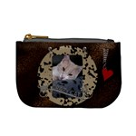 Crazy Cat Mini Coin Purse