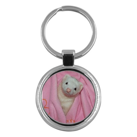 Miss M Key By Jenny Peterson   Key Chain (round)   G7vkqs6xibwl   Www Artscow Com Front