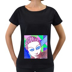 Strong Womens' Maternity T Shirt (black) by JacklyneMaeDesignsMarketingproducts