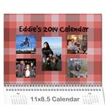 Eddie - Wall Calendar 11  x 8.5  (12-Months)