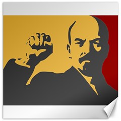 Power With Lenin Canvas 20  X 20  (unframed) by youshidesign
