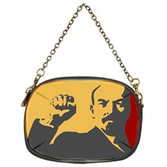 Power With Lenin Chain Purse (one Side) by youshidesign