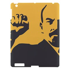 Power With Lenin Apple Ipad 3/4 Hardshell Case by youshidesign