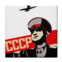 Soviet Red Army Ceramic Tile by youshidesign