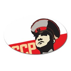 Soviet Red Army Magnet (oval) by youshidesign