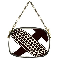 Hammer And Keyboard  Chain Purse (one Side) by youshidesign