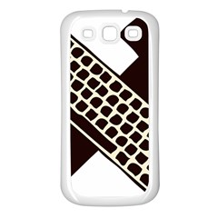 Hammer And Keyboard  Samsung Galaxy S3 Back Case (white) by youshidesign