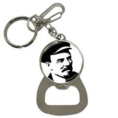 Lenin Portret Bottle Opener Key Chain by youshidesign