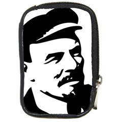 Lenin Portret Compact Camera Leather Case by youshidesign